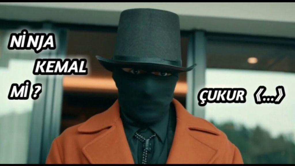 نینجای سیاه در سریال گودال کیست ؟ هویت مرد سیاهپوش در مراسم گالا فاش شد !