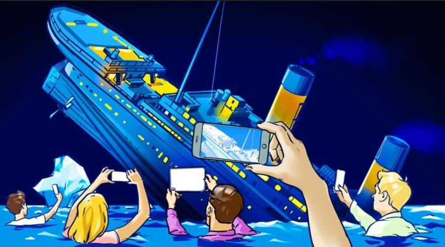 تایتانیک اگر حالا غرق می شد چه اتفاقی می افتاد؟