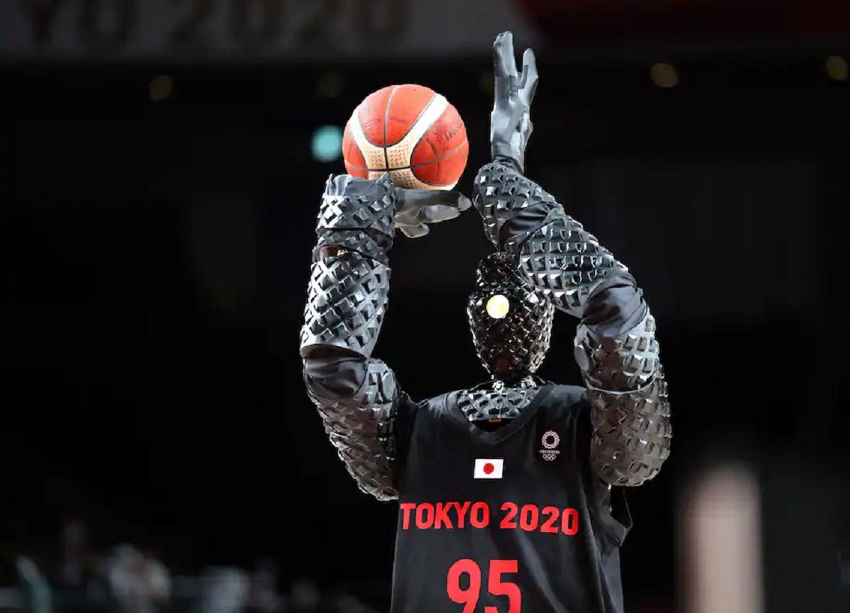 ربات بسکتبالیست در المپیک توکیو