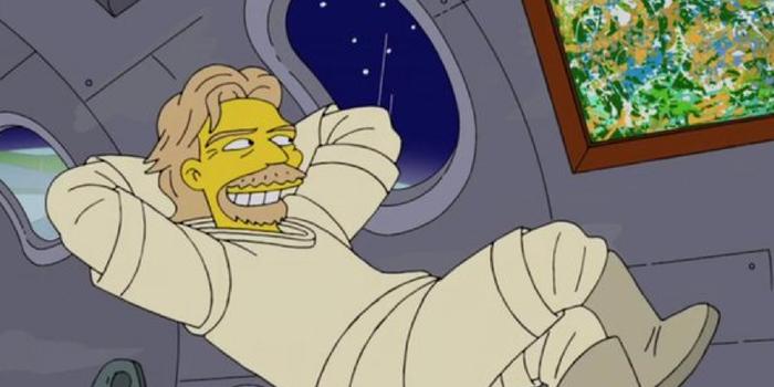 به نظر می رسد که نویسندگان سریال The Simpsons یک بار دیگر از قدرت پیشگویی خود برای پیش بینی سفر تاریخ ساز ریچارد برانسون به فضا استفاده کرده