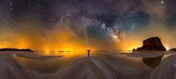 از ایران تا آمریکا؛ تصاویر زیبای عکاس ایرانی از آسمان شب در سرتاسر دنیا