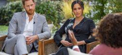 مصاحبه جنجالی پرنس هری و مگان مارکل با اپرا وینفری نامزد جایزه امی شد
