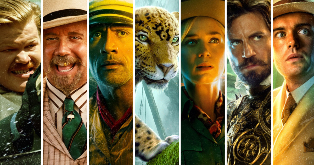 فیلم Jungle Cruise به رهبری جذاب زوج امیلی بلانت و دواین جانسون به خوبی می داند که چطور به خودش خوش بگذراند.