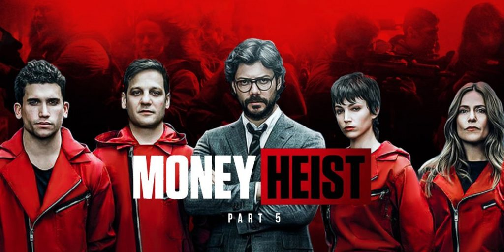 انتشار تیزر جدید فصل پایانی سریال Money Heist + ویدئو