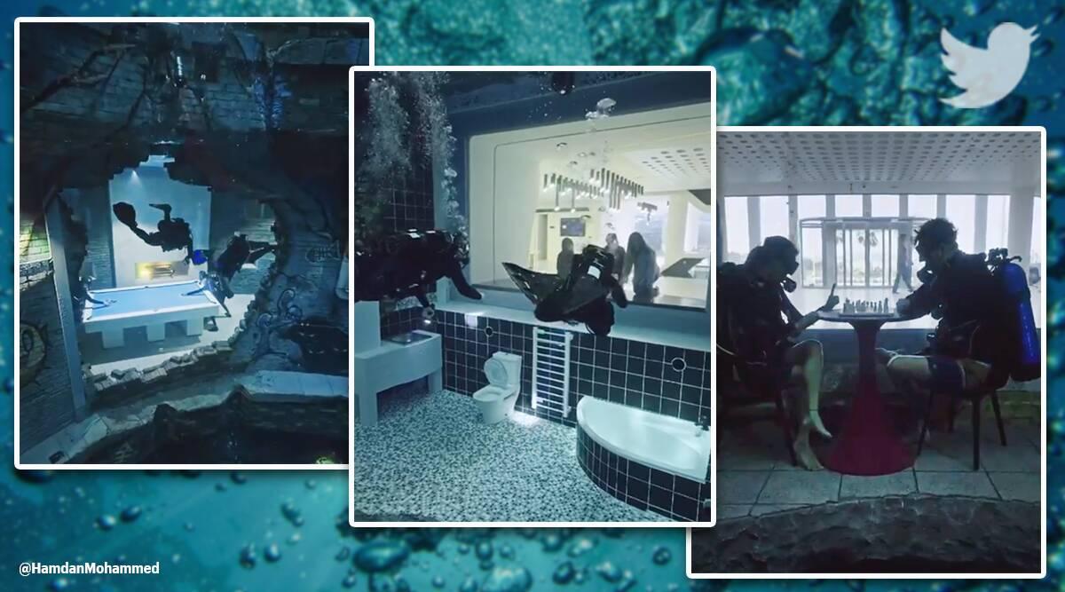 عمیق ترین استخر مخصوص شیرجه جهان در دبی با نام Deep Dive Dubai افتتاح شد که بخشی از یک شهر زیرزمینی به شمار می آید