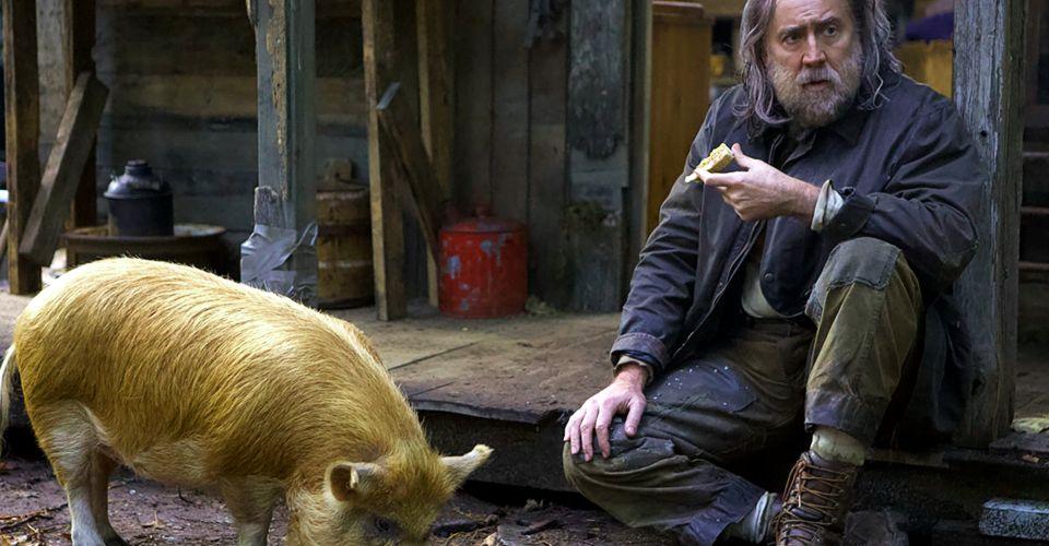 فیلم Pig را می توان مدیتیشنی زیبا در مورد معنای واقعی از دست دادن عزیزان دانست که مملو از سکانس های کمیک، ترحم برانگیز و خشن است.