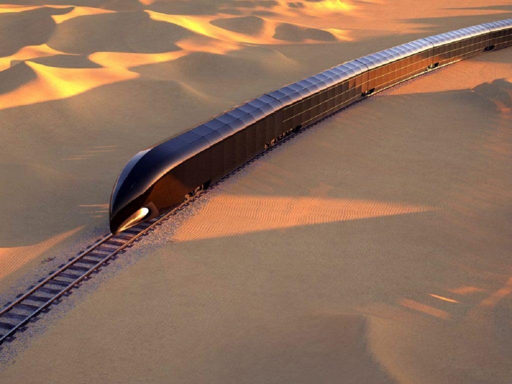 قصر روان روی ریل؛ طراحی اولین قطار مجلل خصوصی توسط طراح قایق تفریحی استیو جابز