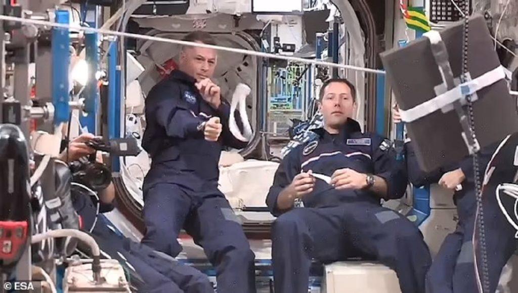 برگزاری المپیک فضایی در ایستگاه فضایی بین المللی + ویدیو