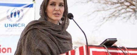 پیوستن آنجلینا جولی به اینستاگرام در حمایت از زنان افغانستان