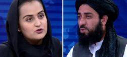 اولین مجری زن افغان که با طالبان مصاحبه کرد از افغانستان گریخت