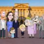 تمسخر عروسهای خاندان سلطنتی بریتانیا در کارتون The Prince