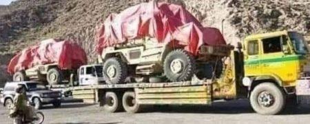 انتقال تجهیزات پیشرفته نظامی آمریکایی از افغانستان به پاکستان توسط طالبان
