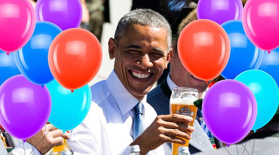 باراک اوباما در تدارک جشنی بزرگ برای تولد ۶۰ سالگی خود