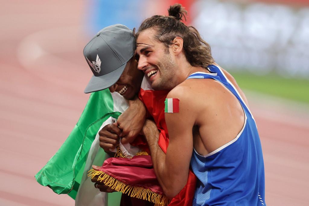 ماجرای دو دوست قطری و ایتالیایی برنده مشترک مدال طلای پرش ارتفاع المپیک توکیو