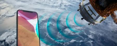 گوشی های موبایل با قابلیت تماس ماهواره ای در راهند