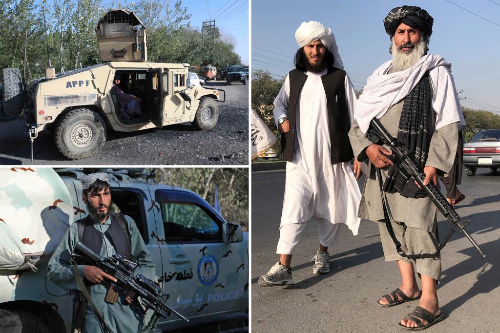 تمام سلاح و تجهیزات آمریکایی که بعد از سقوط افغانستان بدست طالبان افتاده اند