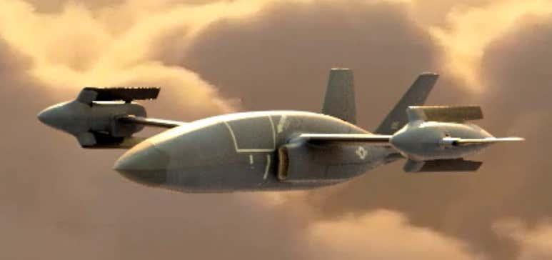 بل یک نسخه مفهومی هلیکوپتر-جت را برای پرنده پرسرعت عمودپرواز (High-Speed Vertical Takeoff and Landing (HSVTOL)) جدید خود معرفی کرد
