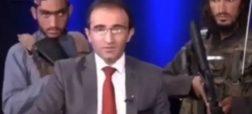 تمجید مجری تلویزیون افغانستان از طالبان در حضور نیروهای مسلح این گروه + ویدئو