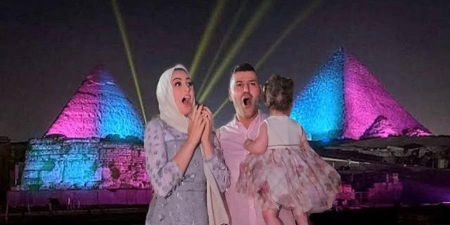 مجازات قانونی در انتظار یوتیوبر عرب بخاطر سوء استفاده از اهرام مصر برای جشن تعیین جنسیت فرزندش