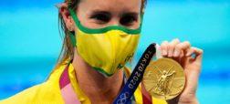 شناگر زن استرالیایی با کسب ۷ مدال طلا و برنز در المپیک توکیو تاریخ ساز شد