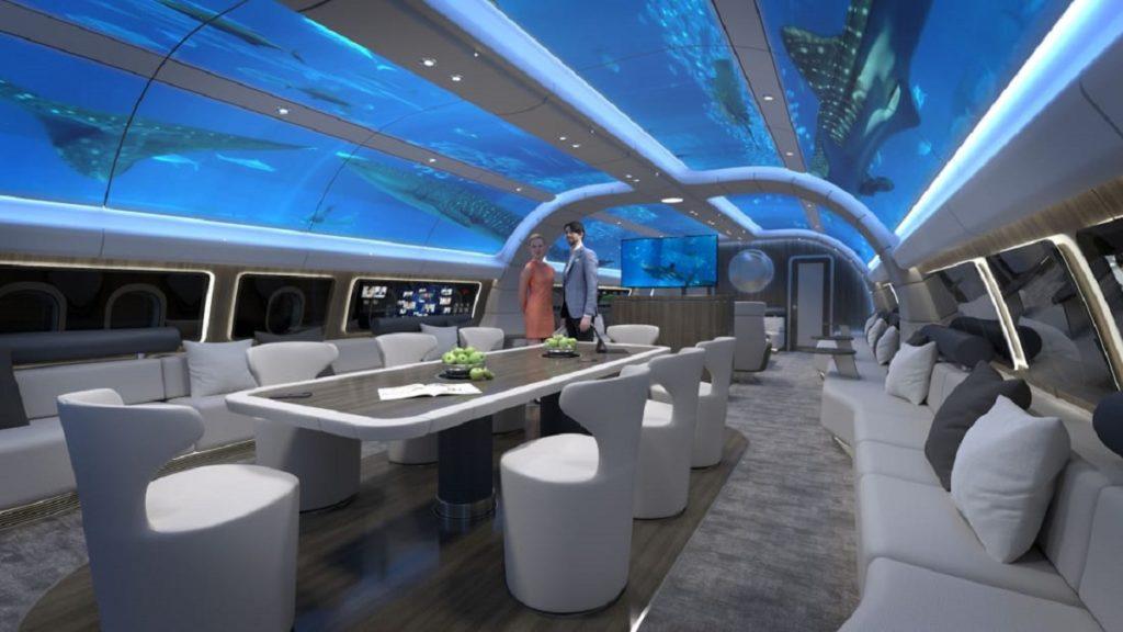 پروژه جدید لوفت هانزا؛ هواپیمایی با کابین زیر آب