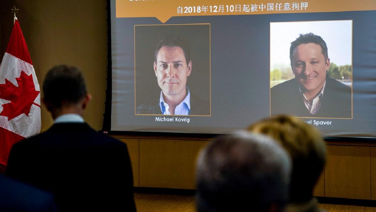 دو تبعه کانادایی در بازداشت