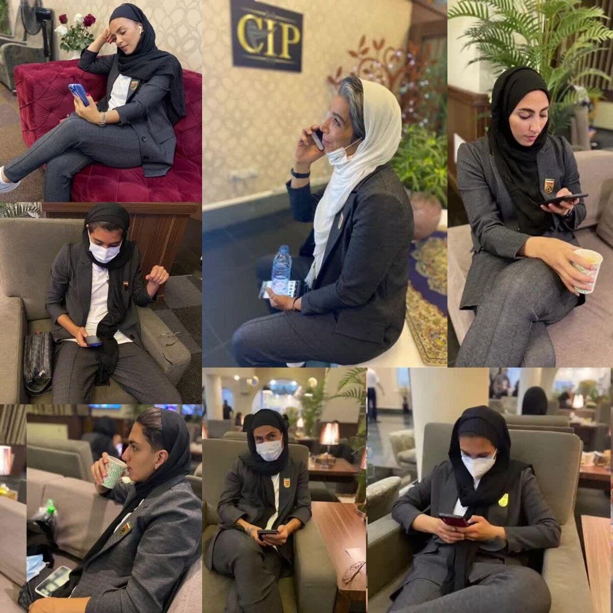 لباس تیم ملی فوتبال زنان ایران