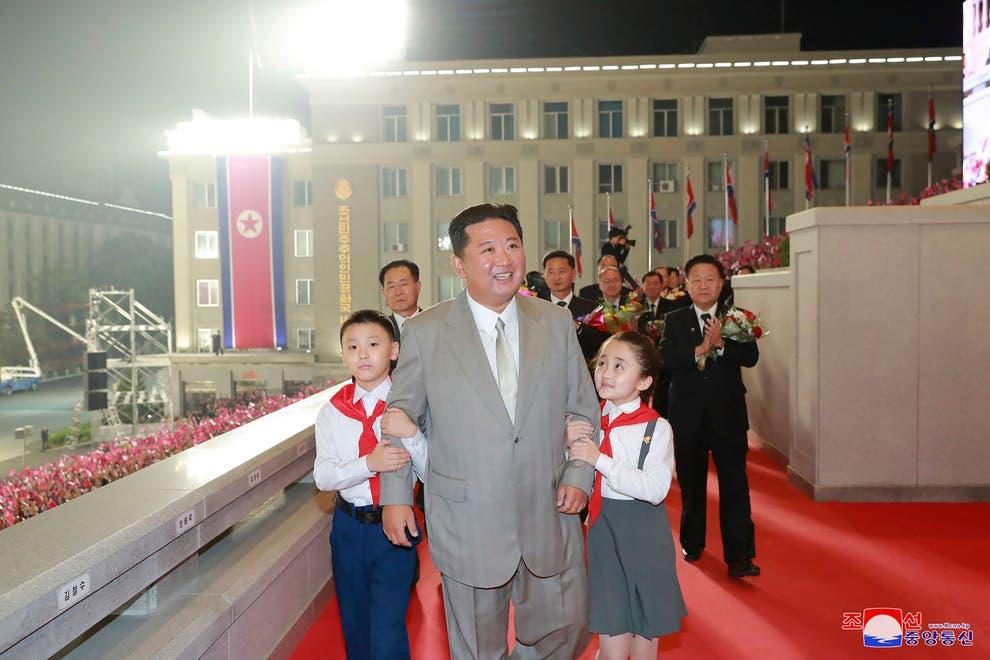 شباهت بیش از پیش کیم جونگ اون به پدربزرگش پس از کاهش وزن ۲۰ کیلوگرمی