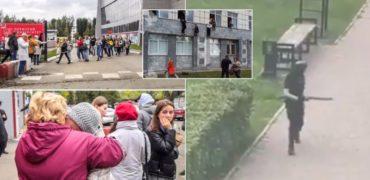 پیام های ترسناک دانشجوی ۱۸ ساله در دانشگاهی در روسیه پیش از کشتن ۷ نفر + ویدیو