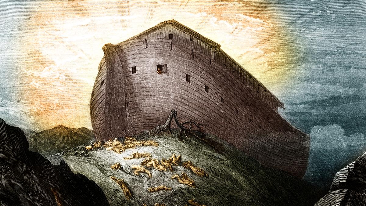 یک شیء بزرگ که ظاهراً با توصیفات کتب مقدس از کشتی نوح مطابقت دارد، توسط محققان و با استفاده از اسکن سه بعدی کشف شده است.