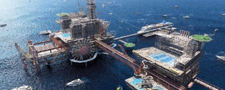 عربستان از برنامهاش برای ساخت یک تم پارک عظیم بر روی سکوی نفتی خبر داد