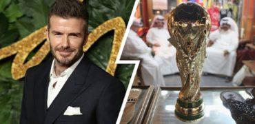 دیوید بکهام با قراردادی نجومی سفیر جام جهانی قطر شد