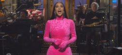 کولاک کیم کارداشیان در برنامه Saturday Night Live