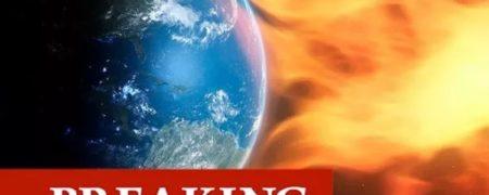 برخورد شراره خورشیدی با زمین و دیده شدن شفق قطبی در سرتاسر جهان + ویدیو