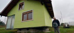 مرد بوسنیایی به عشق همسرش یک خانه گردان ساخته تا ویو خانه را خودش انتخاب کند + ویدیو