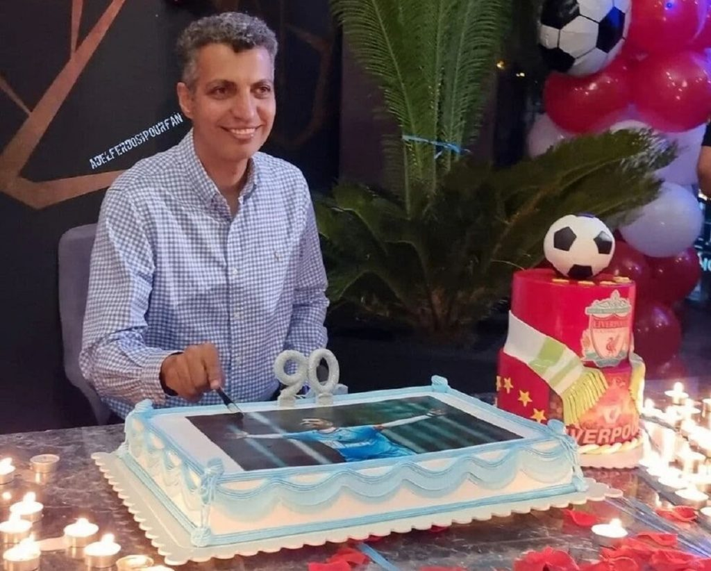 جشن تولد سورپرایزی عادل فردوسی پور + ویدیو
