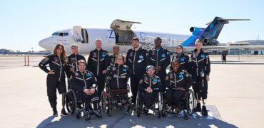 حضور معلولین در جاذبه صفر برای یافتن راههای مناسب سازی فضا برای ناتوانان جسمی