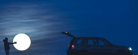عکسی جذاب از «دزدیدن ماه» که گرفتن آن ۲ سال طول کشیده است