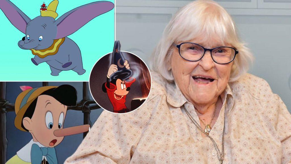 روثی تامپسون انیماتور افسانه ای والت دیزنی در سن ۱۱۱ سالگی درگذشت