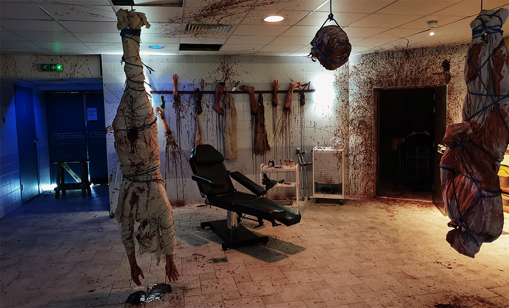 در اتاق فرار ترسناک چه اتفاقاتی می افتد؟