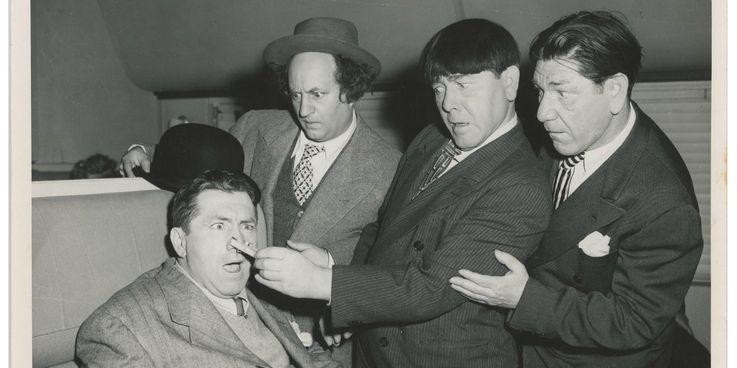 یکی از بهترین و محبوب ترین تمی های کمدی تاریخ سینما، سه کله پوک (The Three Stooges) هستند که ژانر کمدی و شیوه نمایش خشونت در سینما را تغییر