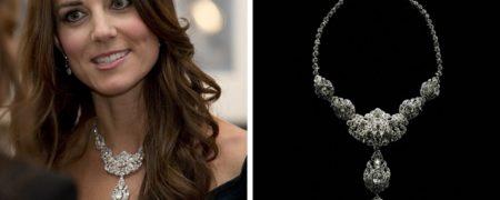 گردنبند کیت میدلتون گران قیمت ترین جواهر سلطنتی دنیا است