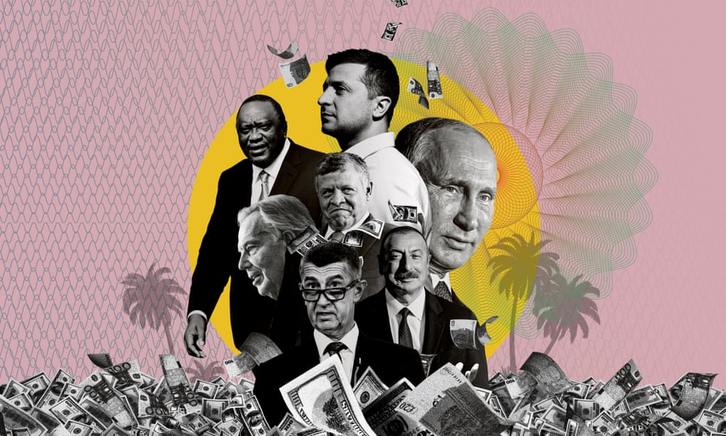 افشای ثروت های مخفی و فرارهای مالیاتی رهبران جهان در قالب اسناد پاندورا