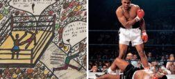 فروش نقاشی های محمد علی کلی به قیمت یک میلیون دلار