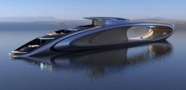 The Shape ؛ قایق تفریحی ۸۰ میلیون دلاری با «حفره ای عمیق» و سوخت پاک