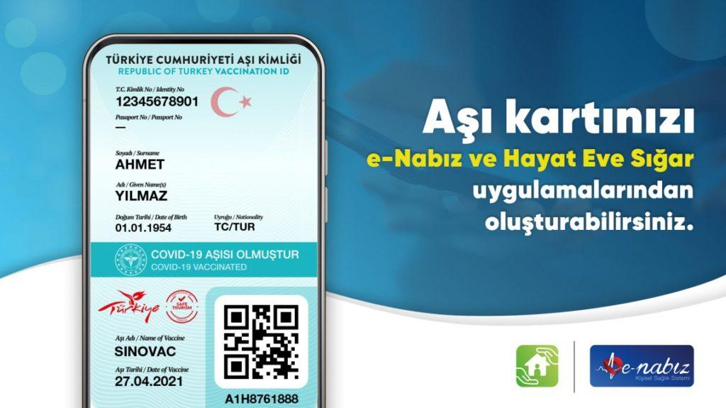 راهنمای دریافت کارت واکسن در ترکیه