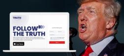 دونالد ترامپ شبکه اجتماعی خود با نام TRUTH Social را راه اندازی کرد